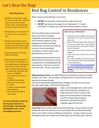Tip sheet with text and image of a hand