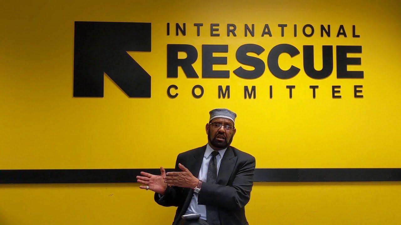 Imam with IRC logo